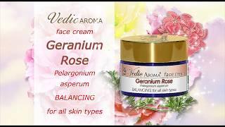 HD: Rose Geranium Face Cream - Vedic Aroma