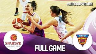 Sparta&k M.R. Vidnoje v Artego Bydgoszcz - Full Game - EuroCup Women 2019