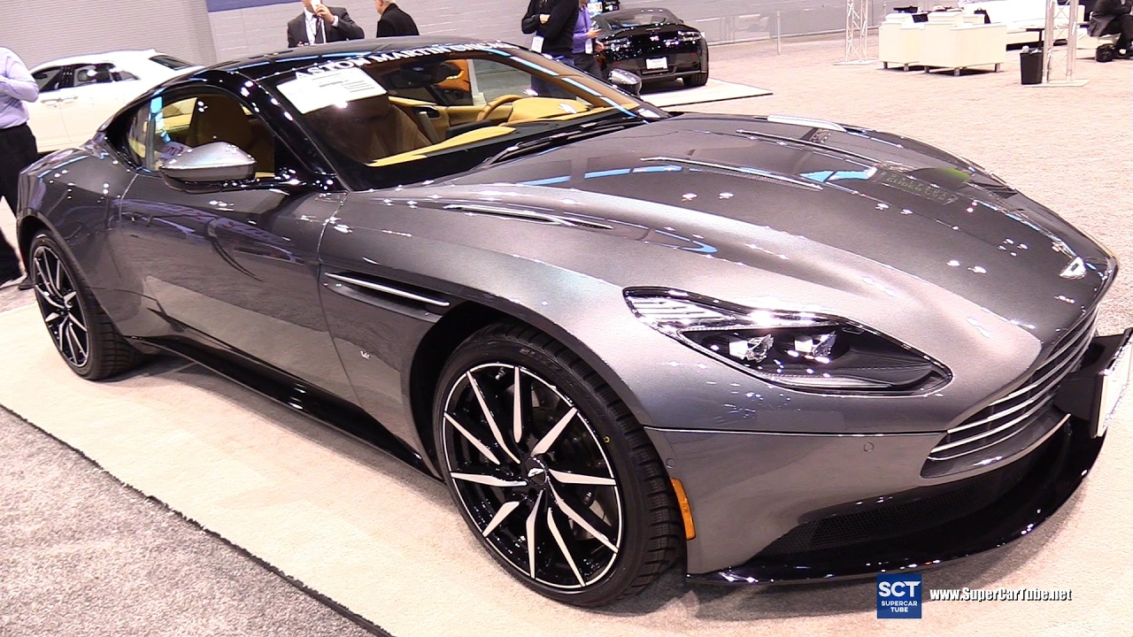 2017 aston martin db11 launch edition - exterior, interior