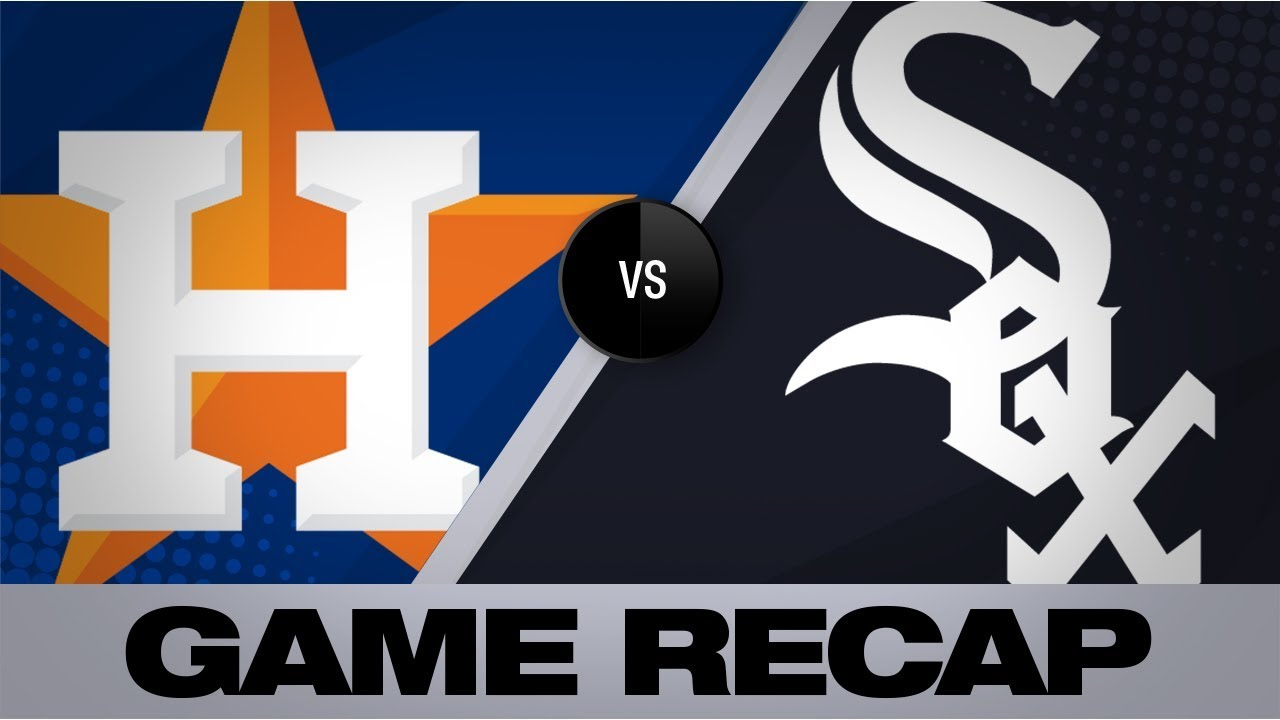 Astros Symbol >> Greinke Springer Lead Astros To 6 2 Win Astros White Sox Game Highlights 8 13 19