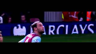 Andy Carroll vs Arsenal Home Hat trick 09 04 2016 HD 720p