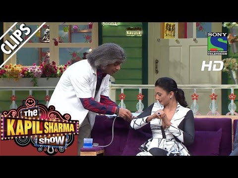 Dr.Gulati's Medical Test with the Star Cast of Fever-The Kapil Sharma Show-Episode 30-31st July 2016