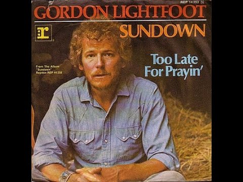 Gordon Lightfoot - Sundown (Lyrics)
