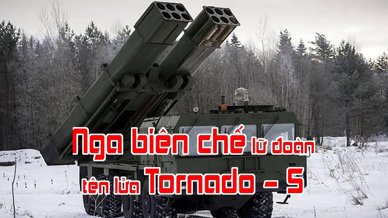 Nga biên chế lữ đoàn tên lửa Tornado   S
