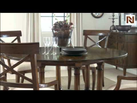 Bernhardt Vintage Patina Round Table Base 322 273