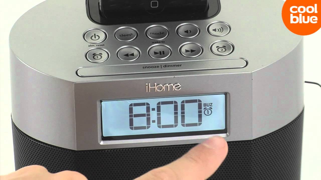 iHome IP230 review en unboxing (NL/BE)