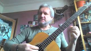 Guitar with Mike Reeman - ABC exercise for bass or acoustic Part 1