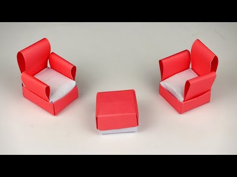 How to Make Paper Sofa Without Glue