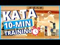 10-MIN KARATE WORKOUT FOR KATA (FOLLOW ALONG!) - YouTube