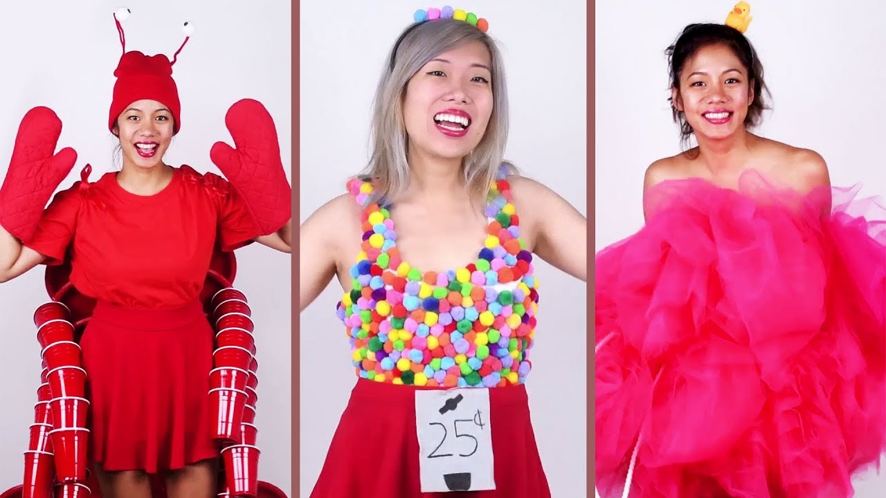 Creative Costume Ideas: DIY HALLOWEEN Costumes! Creep It Real With These 5