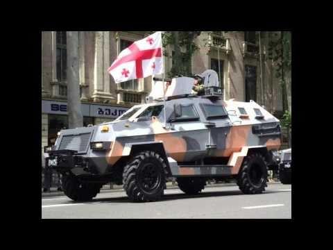 Georgian Land Forces 2011 parade,Грузия вооружается.!!!