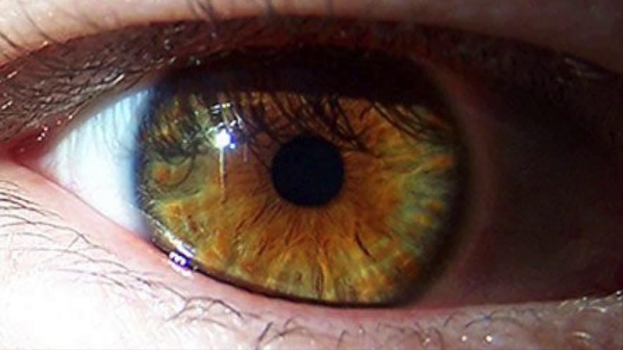 I want hazel eyes