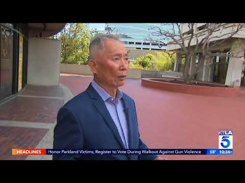 George Takei gives KTLA a tour and history lesson of Little Tokyo