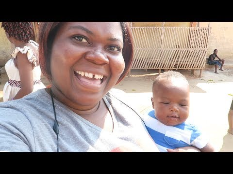 MY TRIP TO TOGO (WEST AFRICA) VLOG 4- BACK TO THE VILLAGE