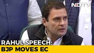 After Rahul Gandhi's 'Hand' Remark, BJP Guns For Congress Poll Symbol