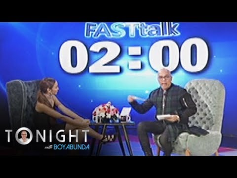 TWBA: Fast Talk with Kathryn Bernardo