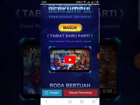 Info Event Mobile legends Malaysia Bisa Hadiah Iponex dan Hero angela..Cek Deskripsi