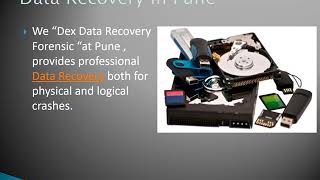 Data Recovery System Supplier in Pune   Dex Data Recovery Forensic