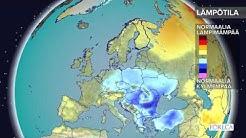 Kuukausiennuste lämpötiloista 10.1.2017: Kylmyys ei hellitä Euroopan itäosissa