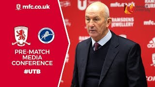 Milwall Press conference