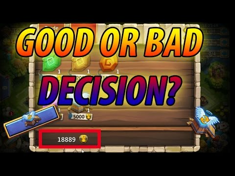 Spending 19,000 Fame Under 5 Min -CASTLE CLASH
