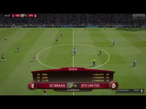 Injury Time screamer from Walcott to win! FIFA 15 FUT