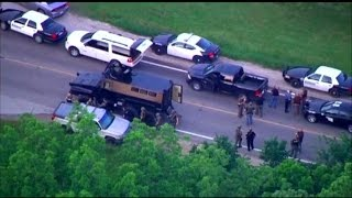 Manhunt Ends in Kansas After Cop Shot in Head During Car Chase