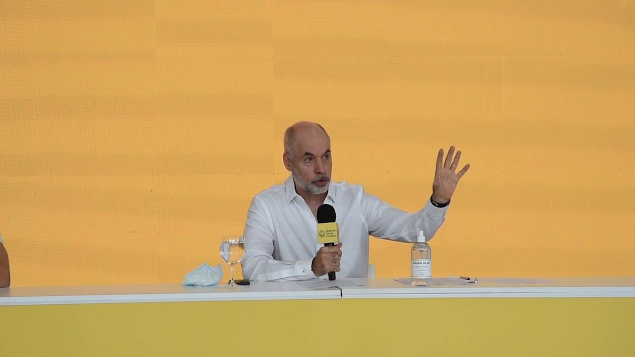 El jefe de Gobierno porteño brindó detalles acerca del retorno a la presencialidad