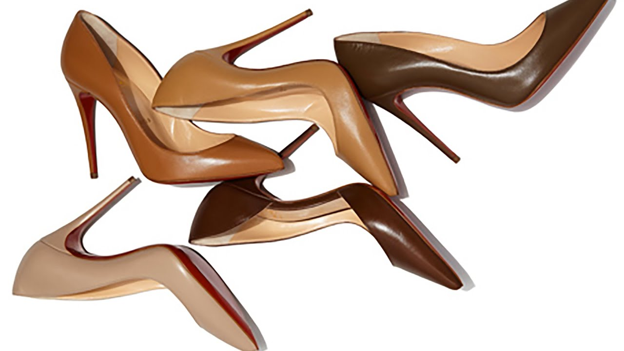 fcac5188afba Christian Louboutin Designs Nude Pumps for Every Skin Tone - YouTube