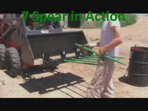 New Multi Spear Utility Forks By Bucketsolutions Com Youtube