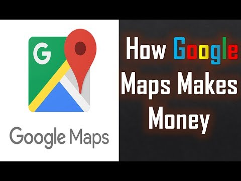 How Google Maps Makes Money | Google Maps business model