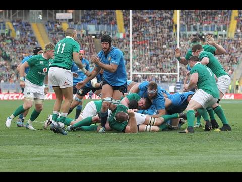 Short Highlights: Italy 10-63 Ireland | RBS 6 Nations