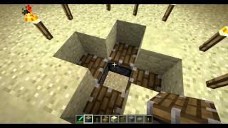Как сделать ловушку для мобов в Minecraft. part 2