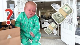 NEWBORN BABY'S FIRST SHOPPING HAUL!