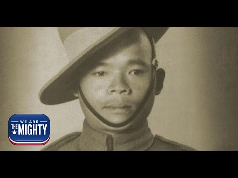 A one-armed Gurkha fought off 200 Japanese...