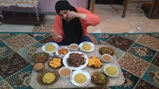 عزومتي عند اختي بس والله هدت حيلي