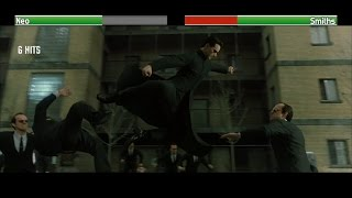 Neo vs Smiths...with healthbars