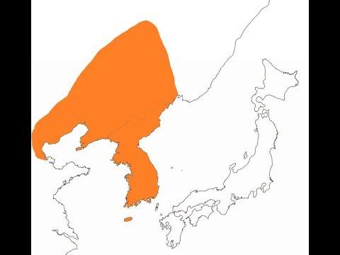 고조선의 지도 Map of GoJoSeon(Old-JoSeon) BC 2333 - BC 900 - BC 108.