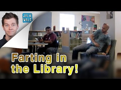 Clint August - Farting in the Library (The Pooter Episode 97)