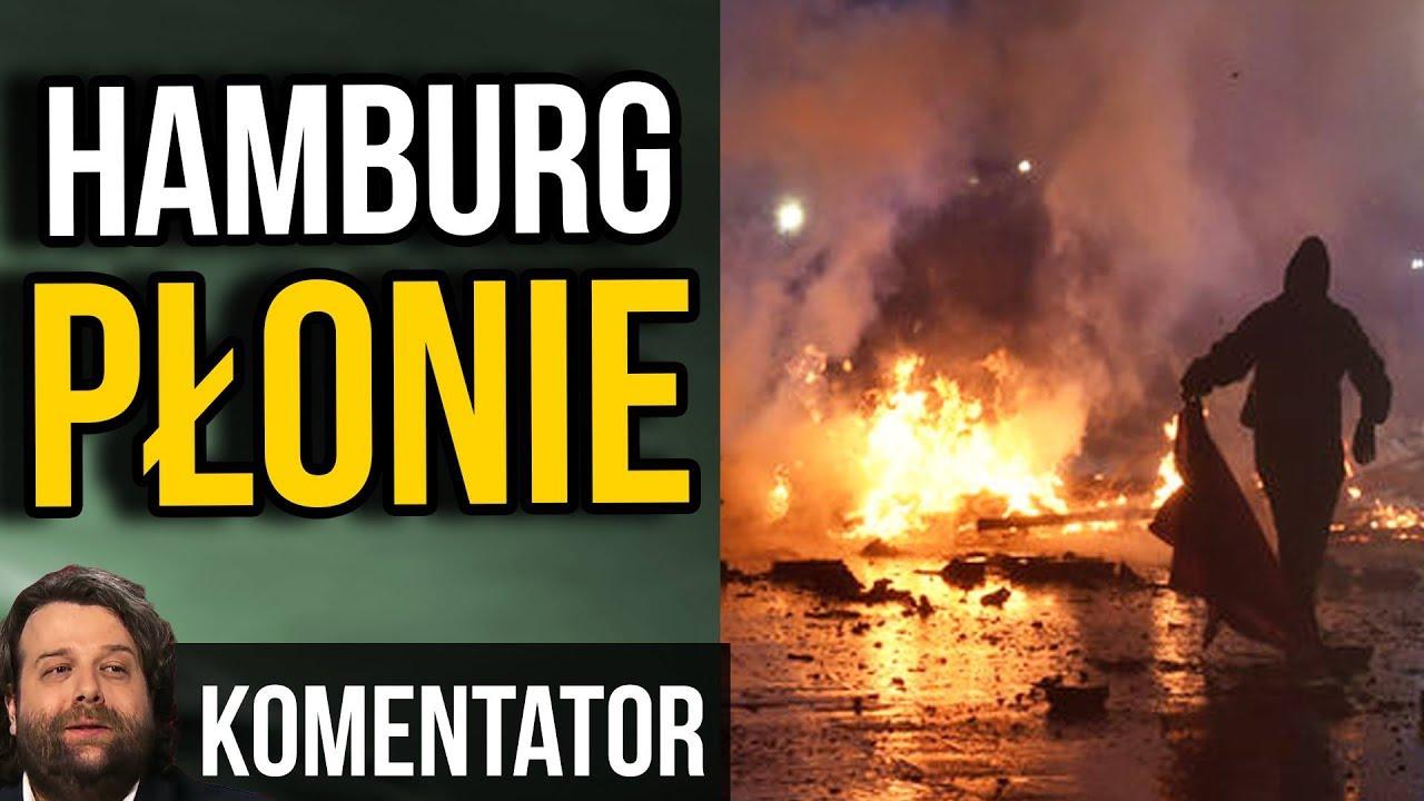 Hamburg w Ogniu – Policja Utraciła Kontrolę