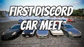 Actual representation of a Discord Car meet