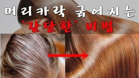 머리카락 굵어지는 방법, 힘 없는 모발 세우는 생활 습관