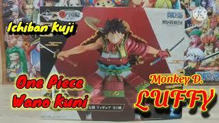 一番くじ ワンピースフィギュア  Ichiban Kuji One Piece Figure Wano Kuni Masterlise (Unboxing)