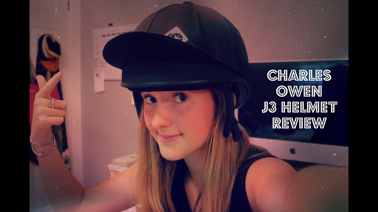 Charles Owen J3 Skull Riding Hat
