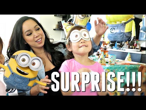 A SURPRISE PARTY! (then breaking the bad news) - June 28, 2017 - ItsJudysLife Vlogs thumbnail