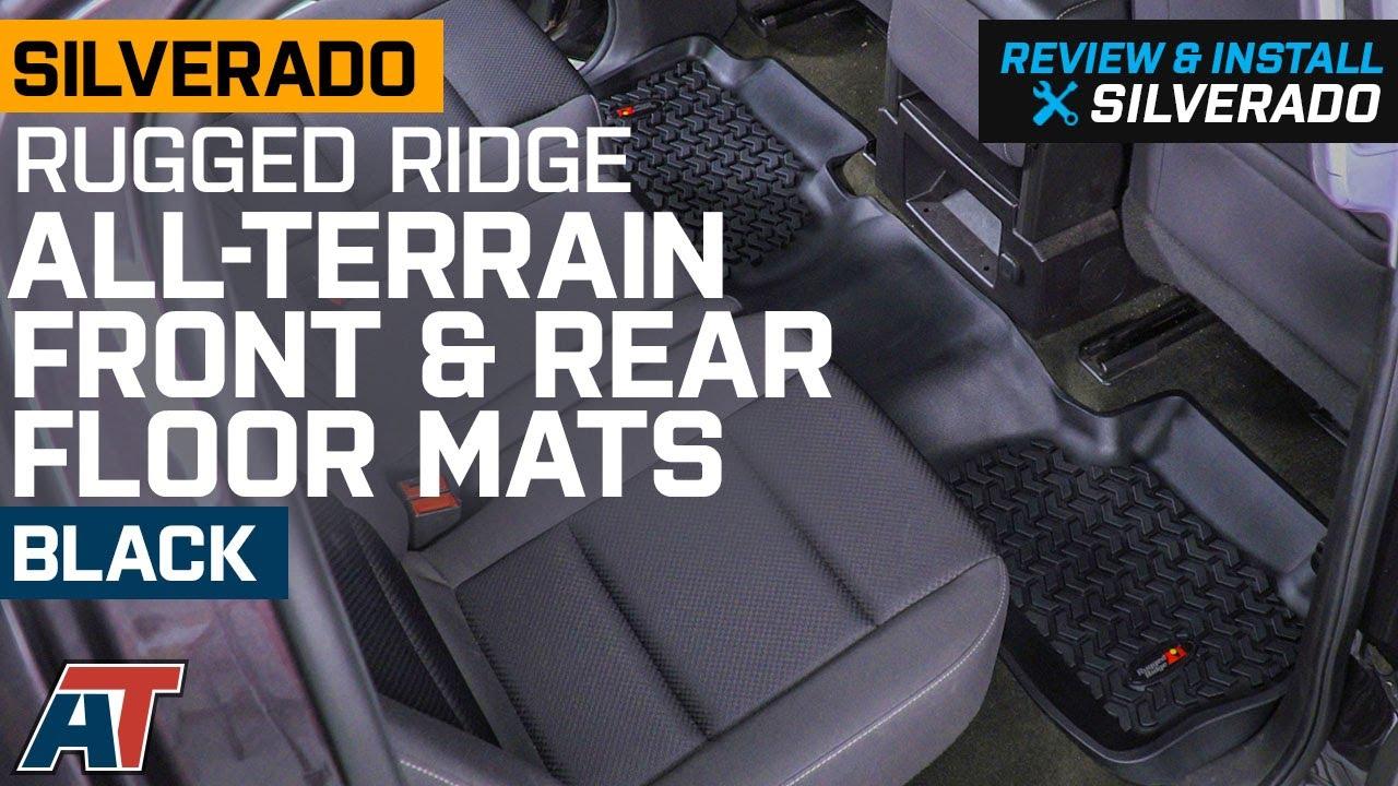 Rugged Ridge Silverado All Terrain Front 2nd Row Floor Liners
