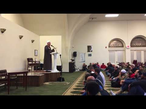 Islamic speech Friday pray in Pittsburgh Pennsylvania Carnegie PA muslim mosque خطبة الصلاة