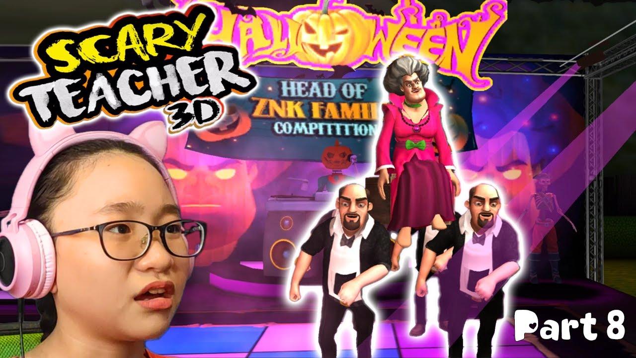 Download Scary Teacher 3D HALLOWEEN CHAPTER 7? - Gameplay Walkthrough Part 8 - Let's Play Scary Teacher 3D!!!