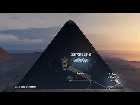 Découverte d'une immense cavité dans la pyramide de Khéops