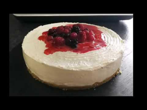 Ricette kcook multi smart cheesecake ai frutti di bosco